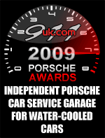 2009 Porsche Independent Car Service Garage for Water-Cooled Cars