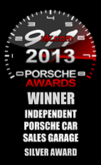 2013 Porsche Independent Car Sales Garage - Silver Award