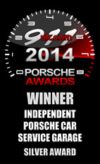 2014 Porsche Independent Car Service Garage - Silver Award