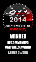 2014 911uk Porsche Recommended Car Sales Award