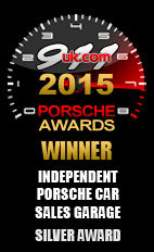 2015 Porsche Independent Car Sales Garage - Silver Award