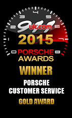 2015 911uk Porsche Customer Service Gold Award (1)