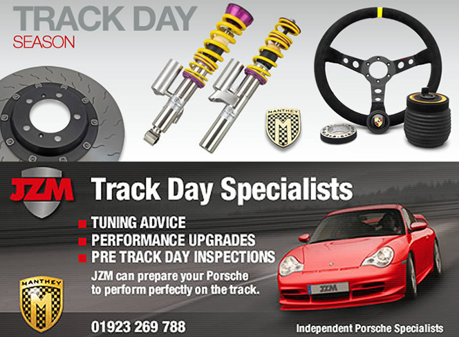 Porsche Track Days Specialist